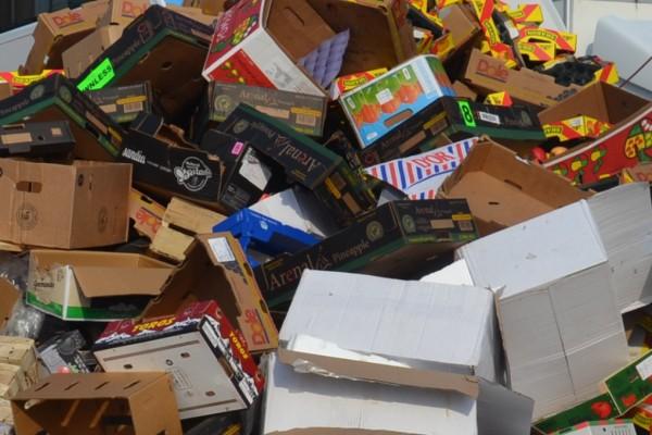 Container für Papier, Pappe und Karton