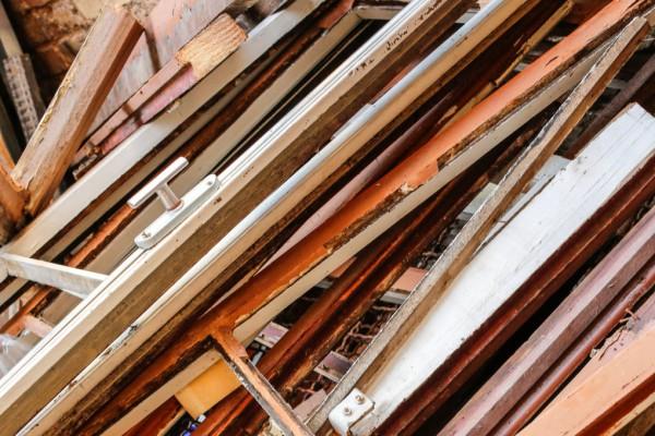 Container für Holz A 4 (schadstoffbelastet)