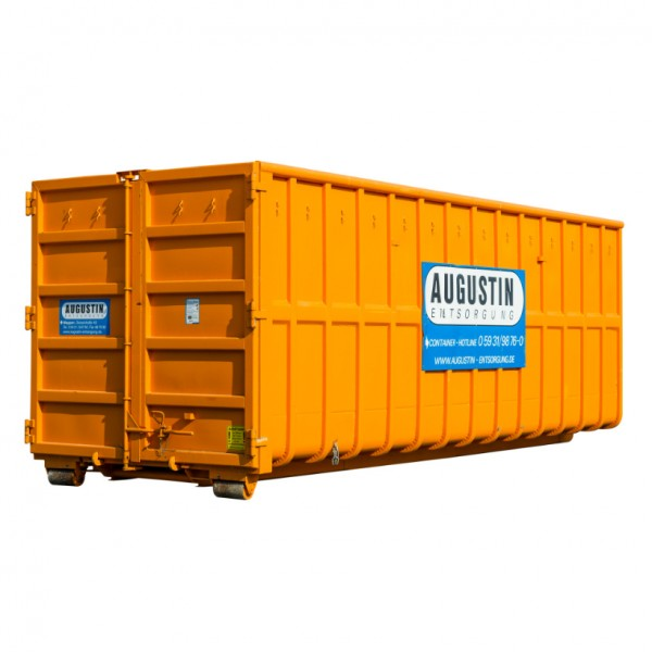 40m³ Abrollcontainer - Altholz A1 (unbehandelt)